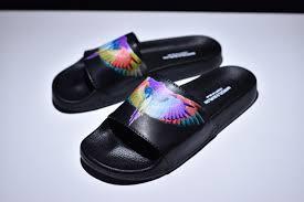 Newest Marcelo Burlon Colorful Wings Black <b>Summer Beach</b> ...