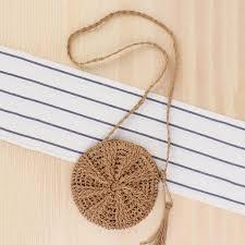 Ayliss <b>Women Straw</b> Bag Crossbody Handmade <b>Woven</b> Summer ...