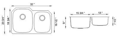 undermount sink sizes photo sienna arronea double bowl undermount sink dimensions