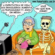 Resultado de imagem para aumenta a expectativa de vida do brasileiro