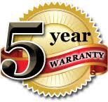 Hytera has a 5 Year Hand Held Warranty