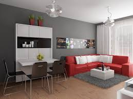 ideas studio apartment  apartment studio apartment decor ideas modern apartment design with red interior ideas from studio inspiration design