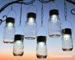 outdoor event lighting mason jar solar lights wedding lights hanging lanterns for parties garden or events 6 silver lights no jars ball mason jar solar lights