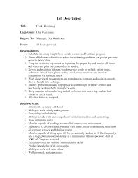 cover letter template for receiving manager job description cover letter cover letter template for receiving manager job description warehouse supervisor resume clerk wowarehouse stocker