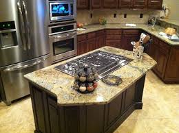 island separate stove top