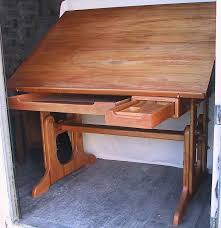 wood drafting table drafting tables and sam maloof on pinterest bedroomendearing small dining tables mariposa valley