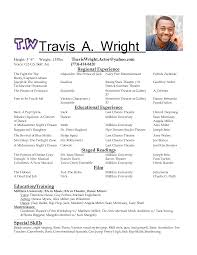 acting resume template acting cv template cv templat acting cv no actors resume template word