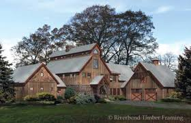 Timber Barn Floor Plans   MyWoodHome comLancaster Home Plan by Riverbend Timber Framing  middot  Barn Timber Frame House