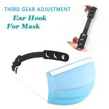 1pc <b>Adjustable Anti-slip Mask Ear</b> Grips Extension Hook Face Masks ...