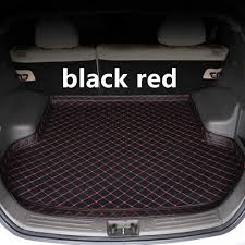SJ <b>Car Trunk Mat AUTO</b> Tail Boot Tray Floor Liner Cargo Carpet ...