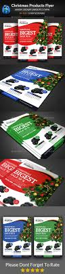 christmas product flyer templates by afjamaal graphicriver christmas product flyer templates corporate flyers