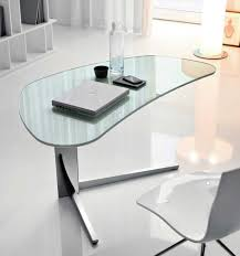 interior amusing white office desk design with fabulous glossy desk surface design and stylish white beautiful office desk glass