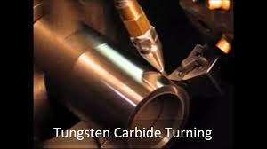 <b>Tungsten</b> Carbide Turning with CO2 Dry <b>Machining</b> - YouTube