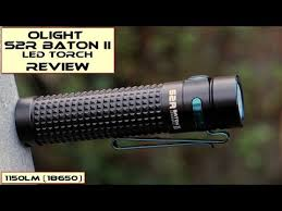 <b>Olight</b> S2R Baton II: Review - YouTube