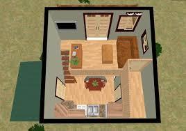 tiny cube house   balcony   jpgThe Cozy Cube  Tiny House   a Balcony from Cozy Home Plans