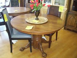 Oak Furniture Dining Room Rummy Large Round Table Seats In Large Round Table Seats Toger In