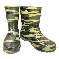 China <b>Camouflage Waterproof</b> Green <b>PVC</b> Gumboots Mens Fishing ...