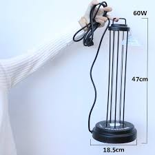 <b>Portable</b> Powerful UV Quartz Germicidal Lamp <b>UVC</b> Disinfect Non ...