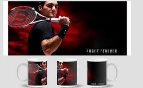 Roger Federer Mug birthday <b>gift</b> cup <b>home</b> decal procelain tea cup ...