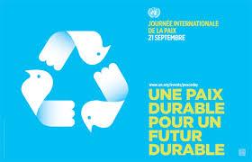 Une paix durable pour un futur durable