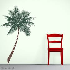 palm tree wall stickers: clearance tropical palm tree wall decal