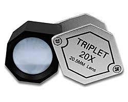 <b>Лупа Kromatech ювелирная</b> шестигранная 20x, 20,5 мм <b>MG22190A</b>