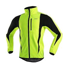 <b>ARSUXEO Winter Warm UP</b> Thermal Softshell Cycling Jacket ...