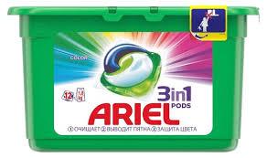 Ariel <b>капсулы</b> Color — купить по выгодной цене на Яндекс.Маркете