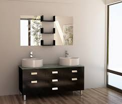 55 inch double sink bathroom vanity:  wellington double sink bathroom vanity set