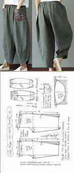 выкройки | шью | Выкройки, Узоры для одежды и Пошив <b>брюк</b>