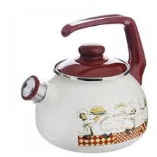 «<b>Чайник эмалированный со свистком</b> 2.5 л Metrot Таково Повара ...