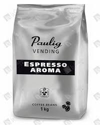 Купить <b>кофе</b> в зернах <b>Paulig Vending Espresso</b> Aroma, 1 кг по ...