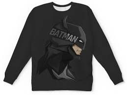 """<b>Свитшот</b> мужской с полной запечаткой """"<b>Бэтмен</b>"""" #2425086 от ..."""