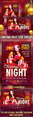 christmas night flyer template psd template christmas night flyer template psd