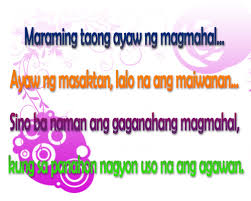 Love Quotes Facebook Statuses Tagalog