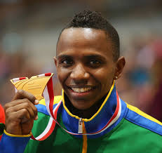 Mauro Vinicius da Silva of Brazil poses with his gold medal during the medal ceremony for the Men's Long Jump during ... - Mauro%2BVinicius%2BDa%2BSilva%2BIAAF%2BWorld%2BIndoor%2BXqYcdZahcY3l
