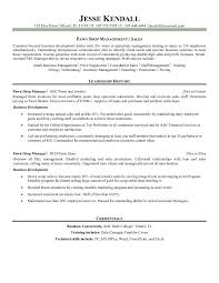 example pawn store manager resume   free samplesample resume