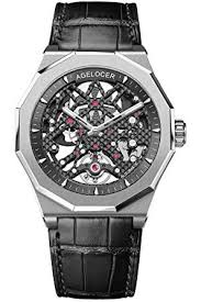 <b>Agelocer</b> Men's Watch Mechanical Automatic Watches <b>Skeleton</b> ...