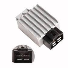 4Pin Motorcycle <b>Voltage Regulator Rectifier fit</b> for Buggie with GY6 ...