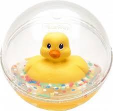 Развивающая игрушка <b>Fisher Price Шар</b> с плавающей уточкой в ...