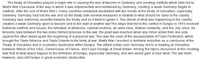 good world war  thesis