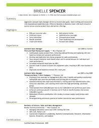 Sample Restaurant Manager Resume  mortgage loan officer resume     happytom co