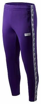 New Balance Mne's <b>NB Athletics Classic</b> Track Pant Mens Purple ...