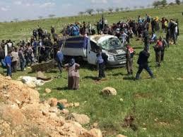 Şanlıurfa'da kamyonet devrildi: 4 ölü 8 yaralı