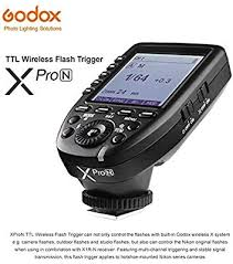 <b>Godox XPro</b>-<b>N TTL</b> Nikon Trigger 2.4G Wireless Camera Flash ...