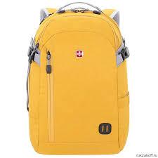 <b>Рюкзак</b> Wenger <b>Grey Heather</b> 18,5'', желтый, 29 л купить по цене 5 ...