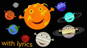 the solar system song lyrics the solar system song lyrics