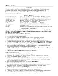 resume sample technical skills