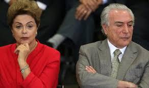 Resultado de imagem para imagens de Dilma e Temer juntos