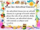 Images & Illustrations of adverbial clause